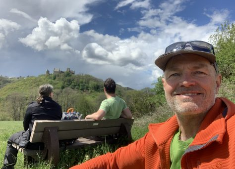 Lee Trail: pauze met uitzicht