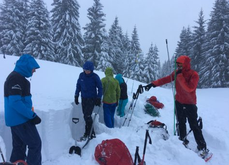 Lesje sneeuwprofiel graven
