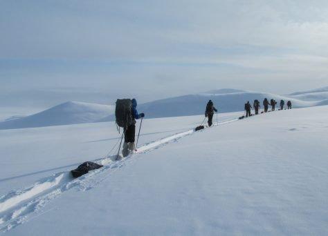 Trekking door Scandinavië